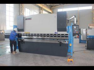 125Т машина за савијање лимова 6мм, хидраулична преклопна кочница ВЦ67И-125Т 3200 за Кину
