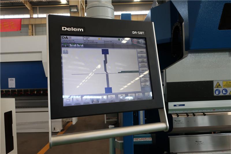 Делем ДА58Т 2Д ЦНЦ систем