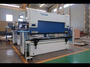 6 осовина ЦНЦ преса машина за кочење 100 тона к 3200 мм