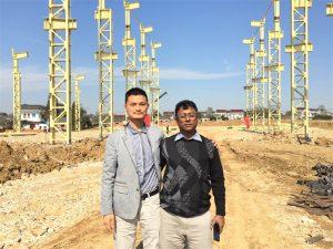 Купци Бангладеша долазе у посету новој фабрици коју градимо
