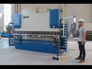ЦЕ 2 оса ЦНЦ преса за кочење 130Тк3200 Е200 НЦ контролни систем НЦ кочиона машина
