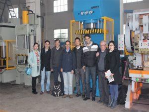 Делегација Перуа је дошла да посети нашу фабрику и купи машине