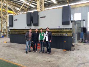 Вијетнамске купце посјетите нашу фабрику