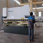 промоција ВЦ67И хидраулична лим-преса кочница, машина за савијање алуминијумског профила