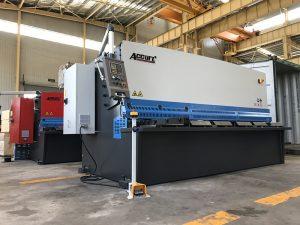 хидраулична машина за сечење 12мм челична плоча машина за сечење 2500мм