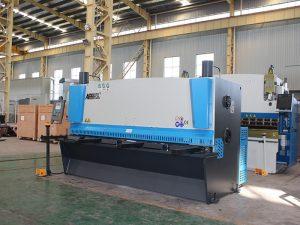 цнц хидраулична машина за сјечење лимова, хидраулична машина за сечење листова, КЦ12и-4Кс2500 Е21с