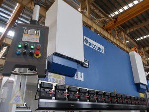популарна хидраулична цнц преса кочница са естун Е210 контролним системом ВЦ67И-125Тон / 3200мм са инжењеринг сервисом