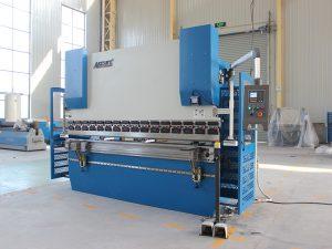 Вц67К 100т сиеменс мотор серво машина за савијање лимова ЦНЦ хидраулична преса кочница са Да41 контролером